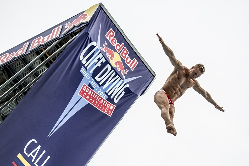Photographer Credit: Dean Treml/Red Bull Cliff Diving